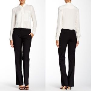 • Theory • Emery Broadway Wool Blend Pants Black